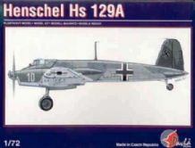 Pavla 72004 Model Kit 1/72 Henschel Hs 129A